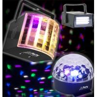 PARTY-3PACK, Komplet svetlobnih efektov, PARTY LIGHT & SOUND