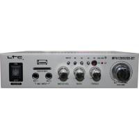 MFA1200USB-BT-SI stereo karaoke ojačevalec LTC