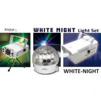 WHITE NIGHT Komplet svetlobnih efektov IBIZA LIGHT
