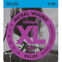 Strune za el. kitaro D'Addario EXL120