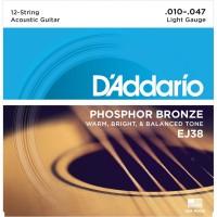 Strune za 12 str. akustično kitaro D'Addario EJ38