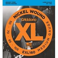 Strune za el. bas kitaro D'Addario EXL160