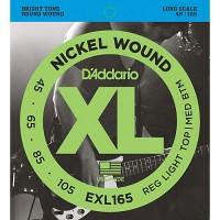 Strune za el. bas kitaro D'Addario EXL165