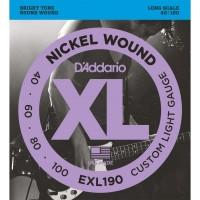 Strune za el. bas kitaro D'Addario EXL190
