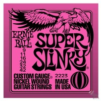 Strune za električno kitaro Ernie Ball 2223
