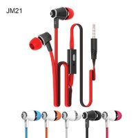 SLUŠALKE IN-EAR LANGSDOM JM21 RDEČE